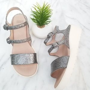 Johnston & Murphy Wedge Sandals! Size 8